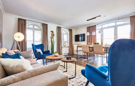 Esszimmer Sylt | 4 Zi Fewo Quot Metropolitan Style Quot Residenz Bismarck